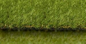 artificial grass side view